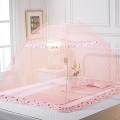 儿童婴儿蚊帐(动物世界140*80*80) 玉色