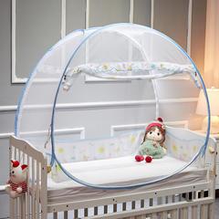 儿童婴儿蚊帐(梦乐园) 蓝色160*80*90
