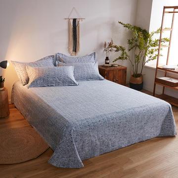 2019新款-全棉生态肌理纹磨毛单品床单