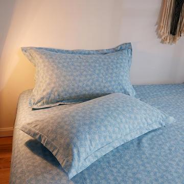2019新款-全棉生态肌理纹磨毛单品枕套