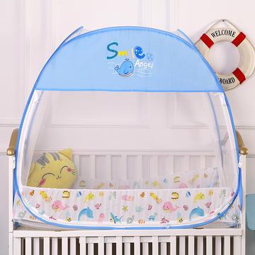 儿童婴儿宝宝免安装蒙古包蚊帐 海洋乐园