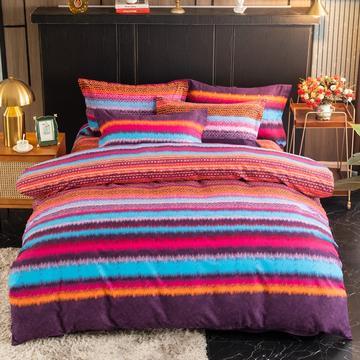 2020新款-全棉加厚磨毛四件套-圆角床单款/直角床单款