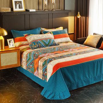 2020新款-全棉加厚磨毛单品床单-圆角款床单