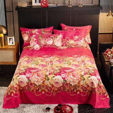 2020新款-全棉加厚磨毛单品床单-直角款床单