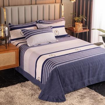 2020新款-百分百全棉生态磨毛单品床单-圆角款床单