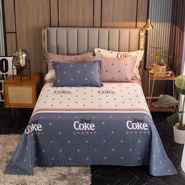 2020新款-百分百全棉生态磨毛单品床单-直角款床单