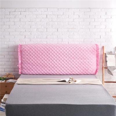 超柔夹棉床头罩 1.5米 粉色