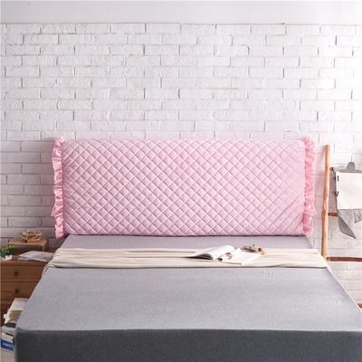 超柔夹棉床头罩 1.5米 玉色