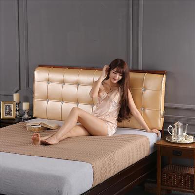 环保革皮质靠背(床头款) 150*10*60 香槟金