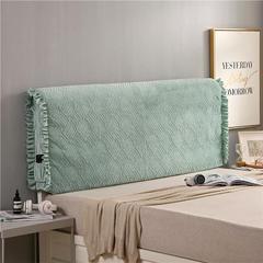 2018新款-秋冬新品天使之翼床头罩 1.2米高度适合65CM以下的床使用 果绿