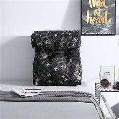 2019新款-潮牌印花涂鸦靠垫 中号长45X55CM护腰款 含朵