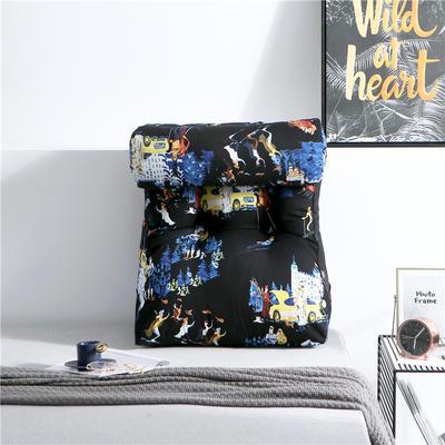 2019新款-潮牌印花涂鸦靠垫 大号长55X60cm护腰款 潘多拉