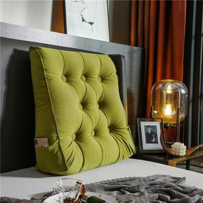 2020新款-现代轻奢款沙发靠枕 简爱系列 长*高*厚55*60*20CM 靠枕 清新绿