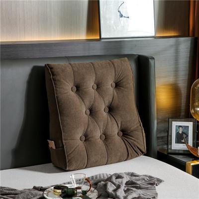 2020新款-现代轻奢款沙发靠枕 简爱系列 长*高*厚55*60*20CM 靠枕 香槟驼