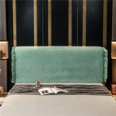 2020新款-意式轻奢款床头罩 天使之翼 1.5米 天使之翼 豆绿