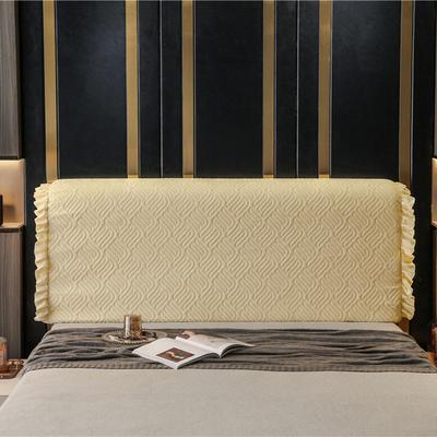 2020新款-意式轻奢款床头罩 天使之翼 1.5米 天使之翼 米黄