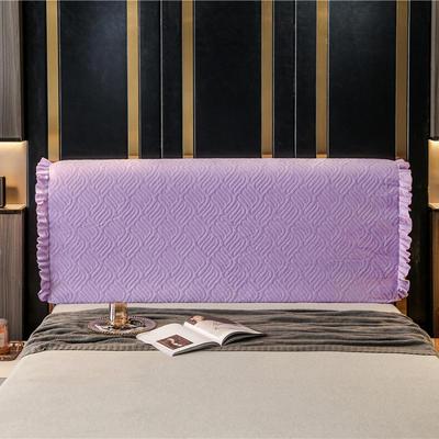 2020新款-意式轻奢款床头罩 天使之翼 1.5米 天使之翼 紫