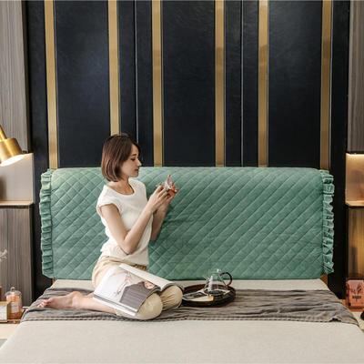 2020新款-意式轻奢款床头罩 小幸运系列 1.5米 小幸运 豆绿