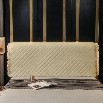 2020新款-意式轻奢款床头罩 小幸运系列 1.5米 小幸运 米黄