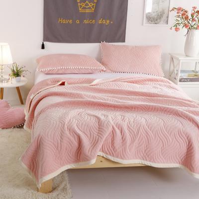 迷尚美式休闲复合毛毯 150*200 玉色