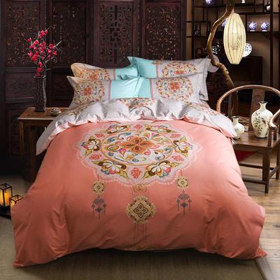 迷尚家纺 13372全棉中国风系列四件套 1.5*1.8m床 相思令