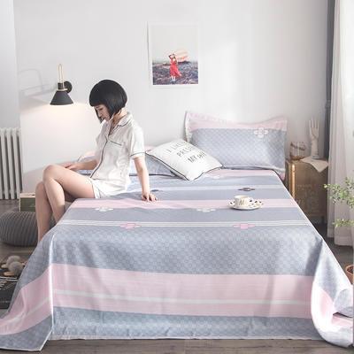 2019新款900D竹语冰丝凉席三件套床单款 250*250cm 彩云阁-灰