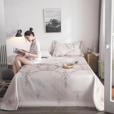 2019新款900D竹语冰丝凉席三件套床单款 250*250cm 雅韵-驼