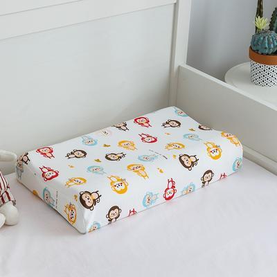 2019新款儿童乳胶枕 小猴子 44*27cm