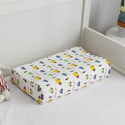 2019新款儿童乳胶枕 小汽车 44*27cm