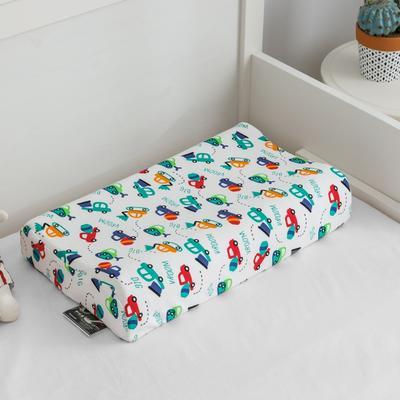 2019新款儿童乳胶枕 小挖机 44*27cm