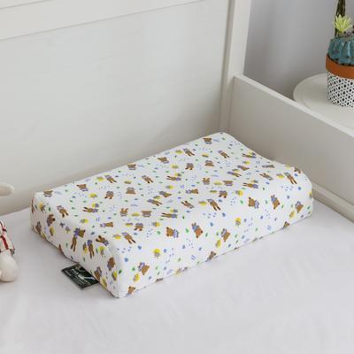 2019新款儿童乳胶枕 小熊 50*30cm