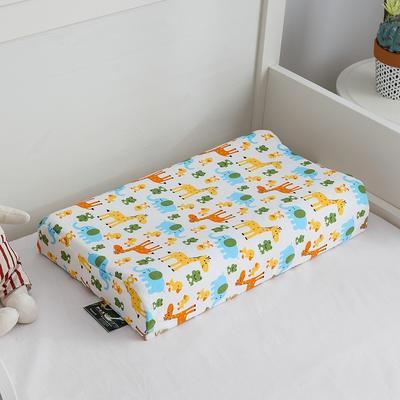 2019新款儿童乳胶枕 长颈鹿 50*30cm