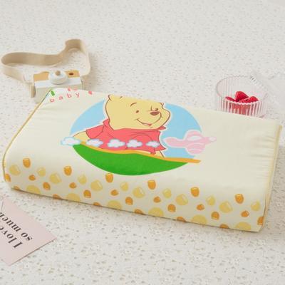 2019新款儿童全棉大版乳胶枕- 44*27cm 维尼小熊