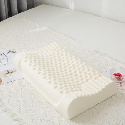 2019新款针织款颗粒乳胶枕-40*60cm 颗粒乳胶枕/裸芯