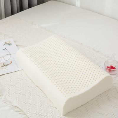 2019新款针织款平板乳胶枕-40*60cm 平板乳胶枕/裸芯