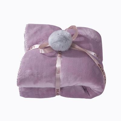 2018新款懒人毯(实拍) 60*170 粉色