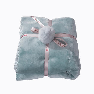 2018新款懒人毯(实拍) 60*170 蓝色