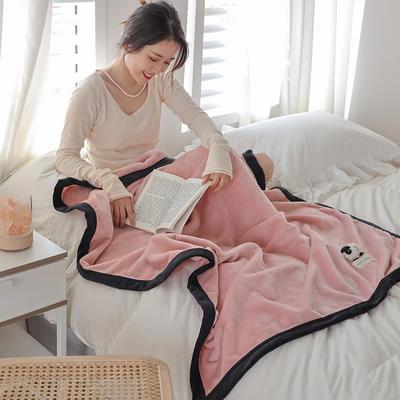 2021新款 法兰绒女神毯 1.0*1.5m 绵羊粉