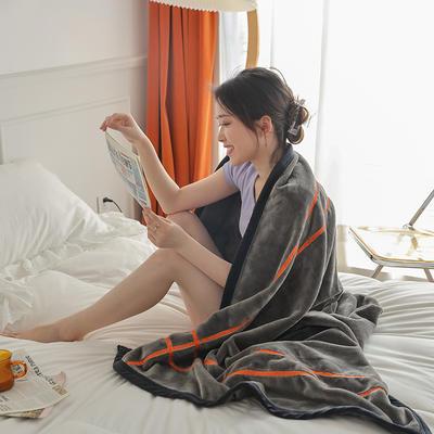 2021新款 轻奢午睡毯 1.2*2.0m 高级灰
