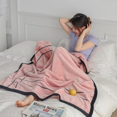 2021新款 轻奢午睡毯 1.2*2.0m 公主粉
