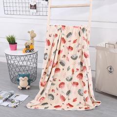 baby blanket双层加厚儿童绒毯 专版花型系列 100x140cm 刺猬
