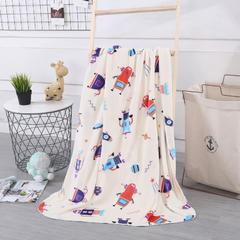 baby blanket双层加厚儿童绒毯 专版花型系列 100x140cm 派对