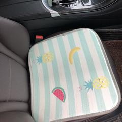 2018新款-夏季冰丝席多功能卡通坐垫三件套方垫 43*43cm /个 水果