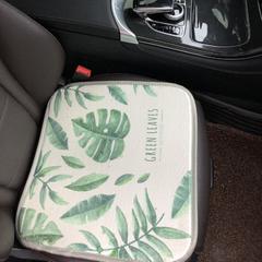 2018新款-夏季冰丝席多功能卡通坐垫三件套方垫 43*43cm /个 小清新