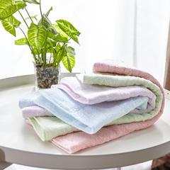 2018新款-纯天然泰国乳胶毛巾(竹纤维)30*40cm 蓝色