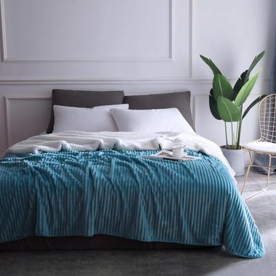2018新款-魔法绒毯 150*200cm 多瑙河蓝