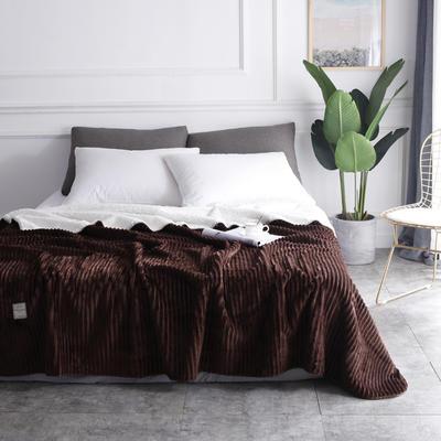 2018新款-魔法绒毯 150*200cm 巧克力咖