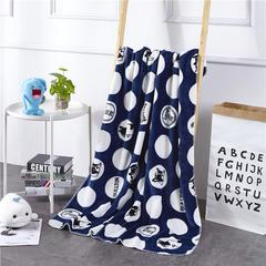2018新款baby blanket双层加厚儿童绒毯 专版花型 100*140cm 巴哥