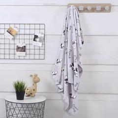 2018新款baby blanket双层加厚儿童绒毯 专版花型 100*140cm 时尚狗