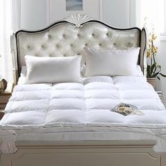 乐馨羽绒被  羽绒床垫 150*200cm 白色